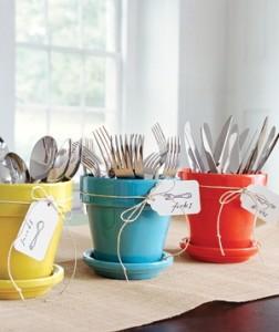 Colorful Utensil Organization