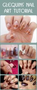 Glequins Nail Art