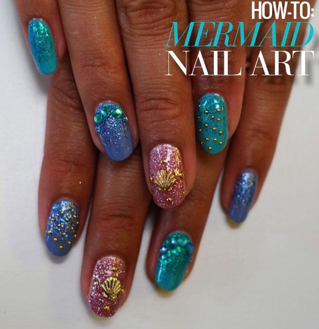 Mermaids Nail Art