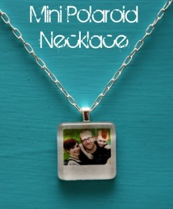 Polaroid Necklace
