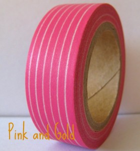 Pink and Gold Metallic