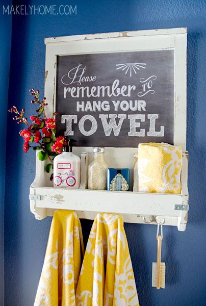 chalkboard-towel-hook
