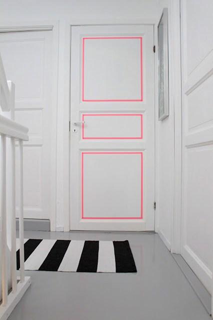 masking-washi-tape-wall-decor-frame-door-diy