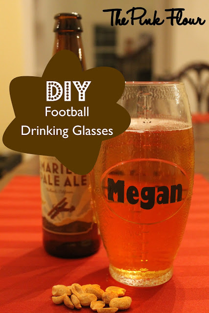 DIY Personalized Drinking Glasses