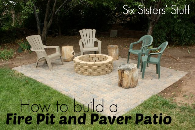 DIY Backyard Fire-pit