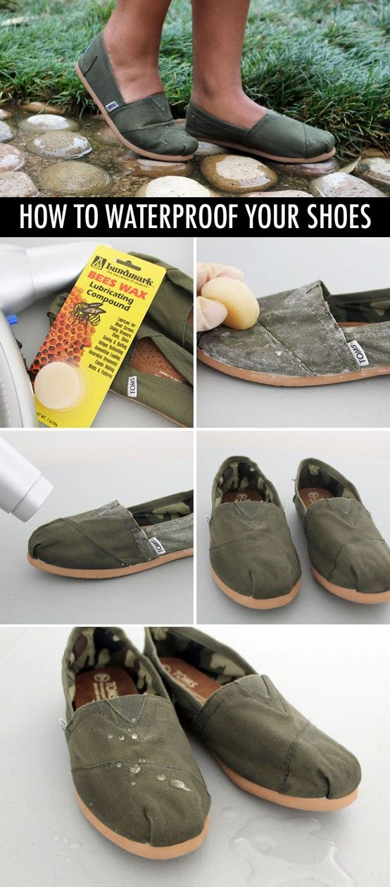 DIY Waterproofing Your Shoes