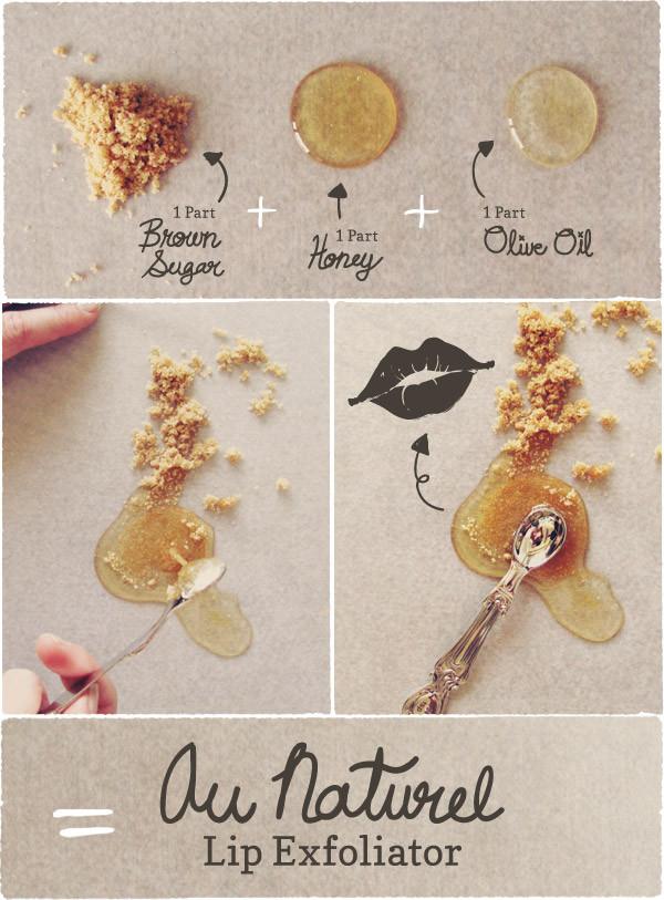 DIY Lip Exfoliator