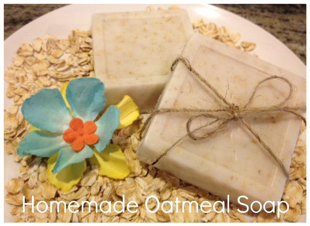 DIY Oatmeal Soap