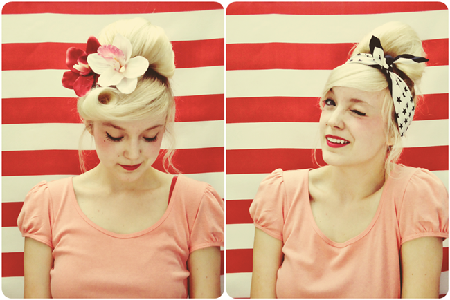Pin-up Girl Hair