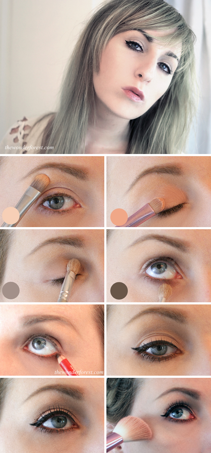 Displaying 15> Images For - Natural Eye Makeup For Brown Eyes...