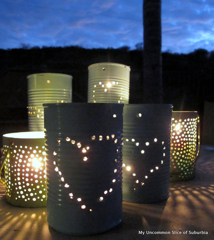 diy tin can lanterns home and heart diy