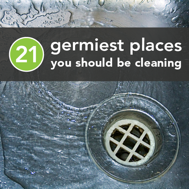 The Dirtiest places in your house