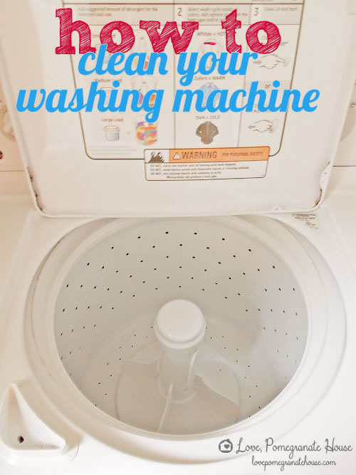 DIY Wash Machine Cleaning