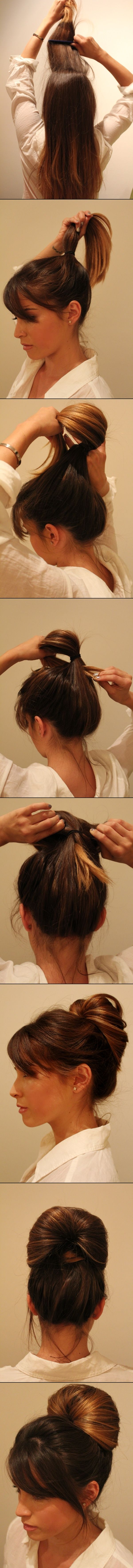 Go-to Up-do Hair