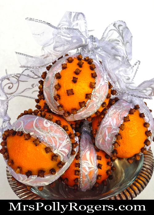 DIY Cloved Oranges