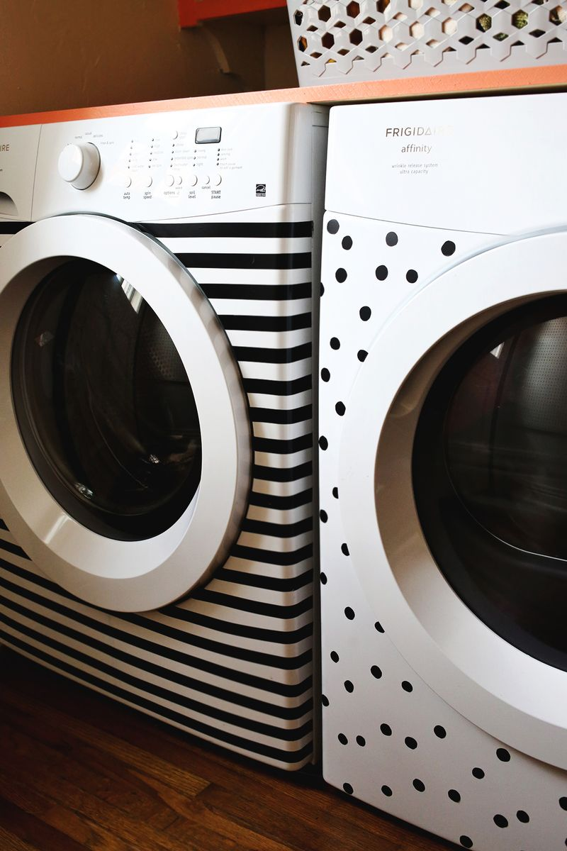 DIY Washer and Dryer Makeover