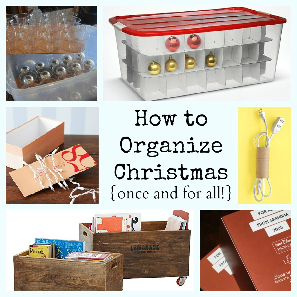 DIY Christmas Organization