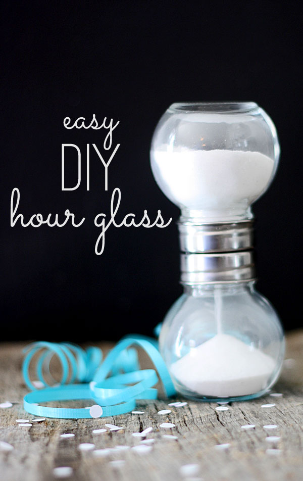 Easy DIY Hourglass