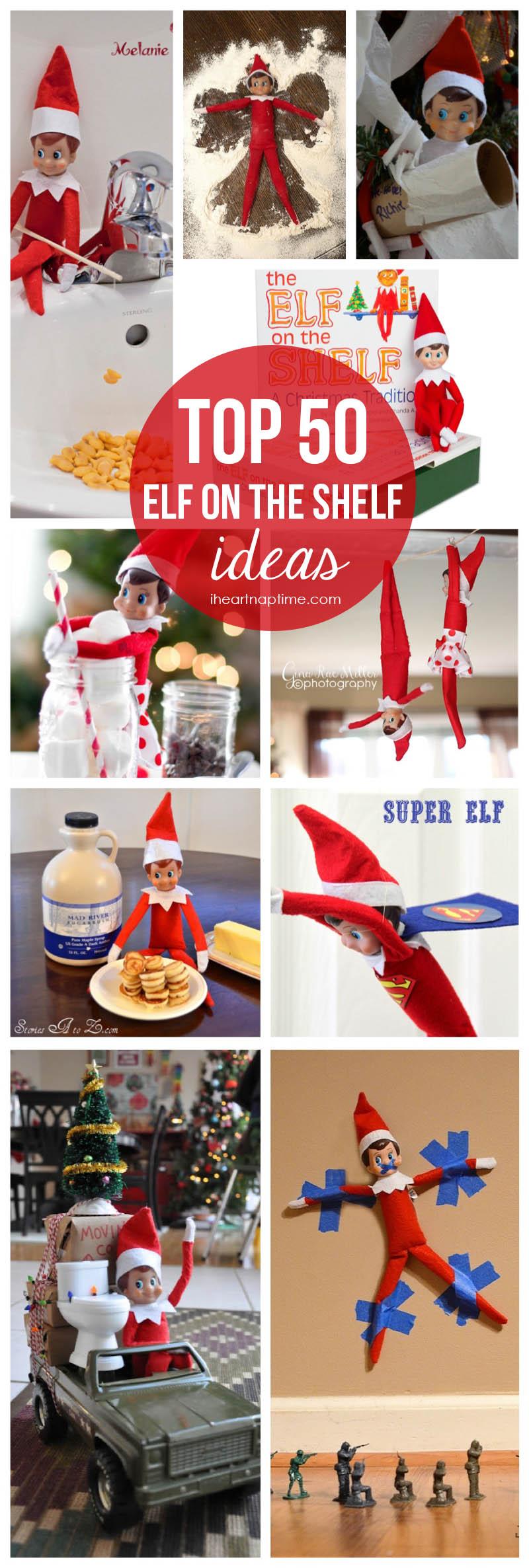 Elf-on-the Shelf Idea
