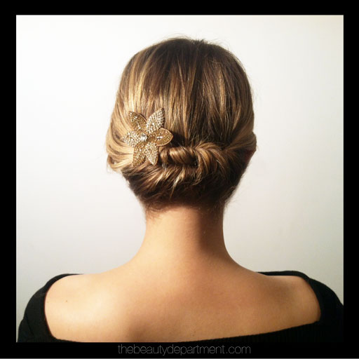 DIY Quick Hair Twist