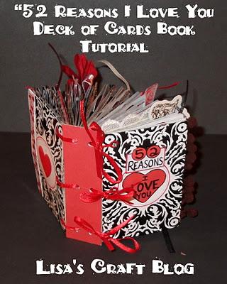 """52 Reasons I love you"" Valentine Book"