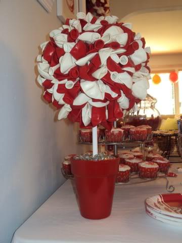 DIY Balloon Topiary