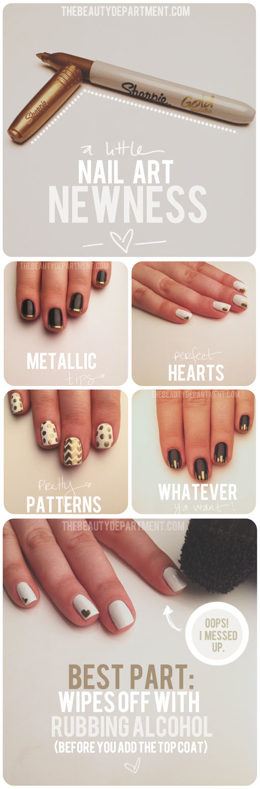 DIY Sharpie Manicure