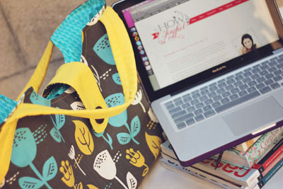DIY Back-to-school Laptop Bag