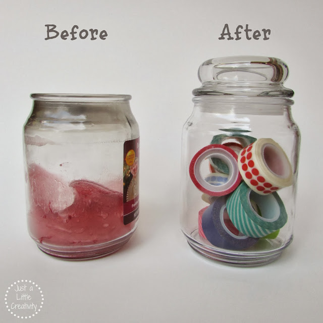 before and after candles