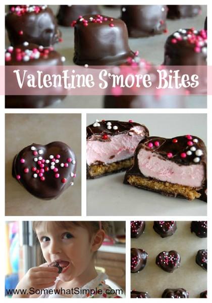 Valentine S'more Bites