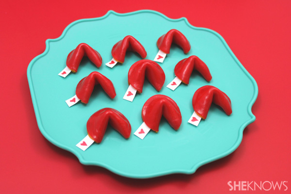 DIY Fruit Roll-Ups Fortune Cookies