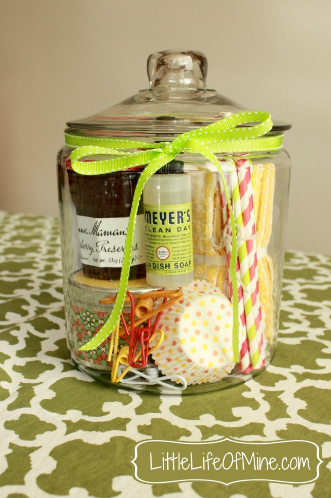 DIY Housewarming Jar