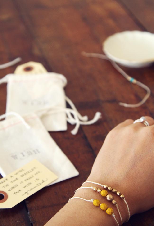 DIY Wish Bracelet