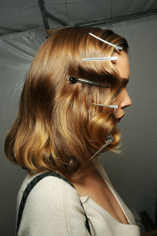 DIY 1940's Finger Wave