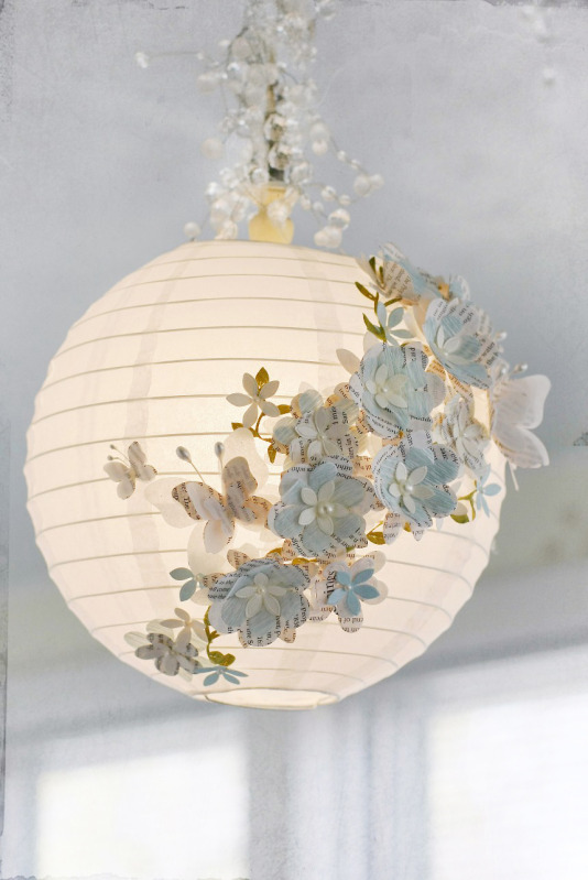 Embelished Paper Lantern