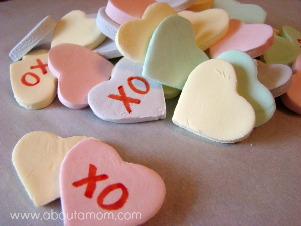 DIY Conversation Hearts