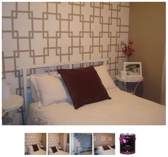 Painters tape project archives home and heart diy - Diy wall paint design ideas ...