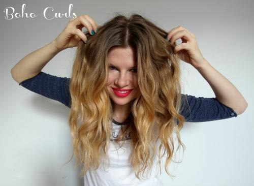 DIY Boho Curls
