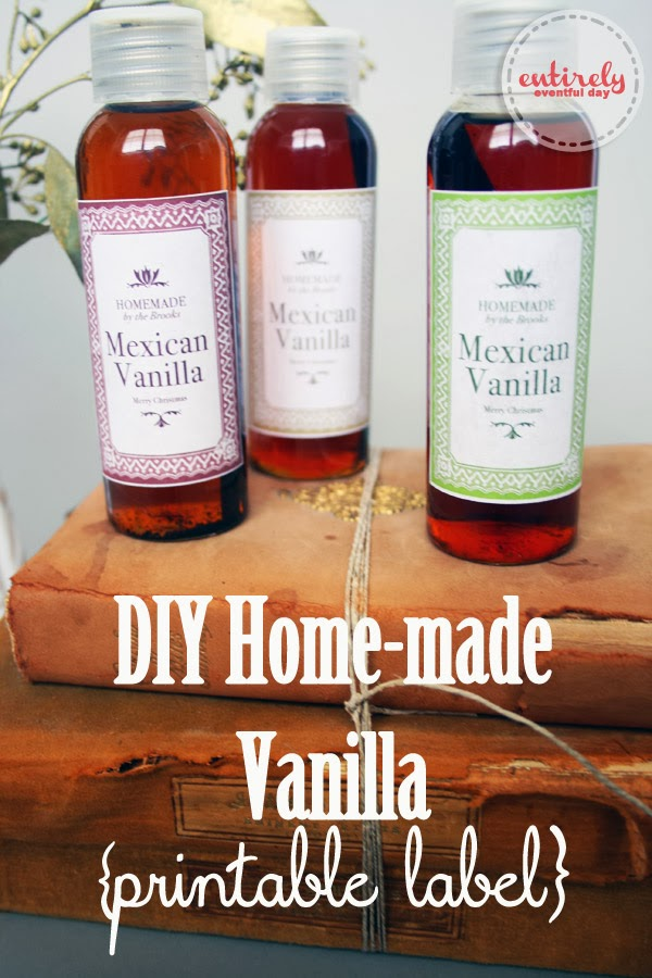 Home-made Vanilla