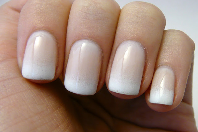 DIY Gradient French Manicure