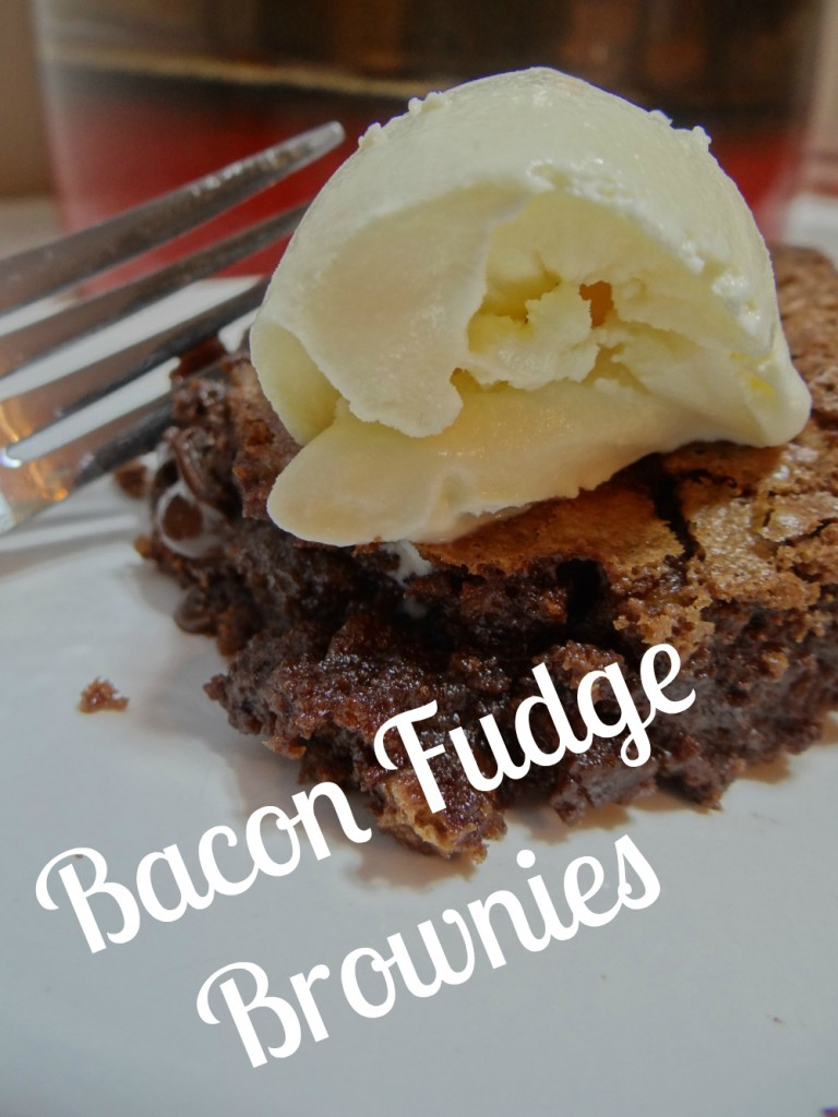 Bacon Fudge Brownies