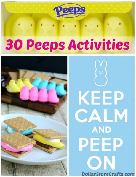 Easter Peep Peep Peeps Projects