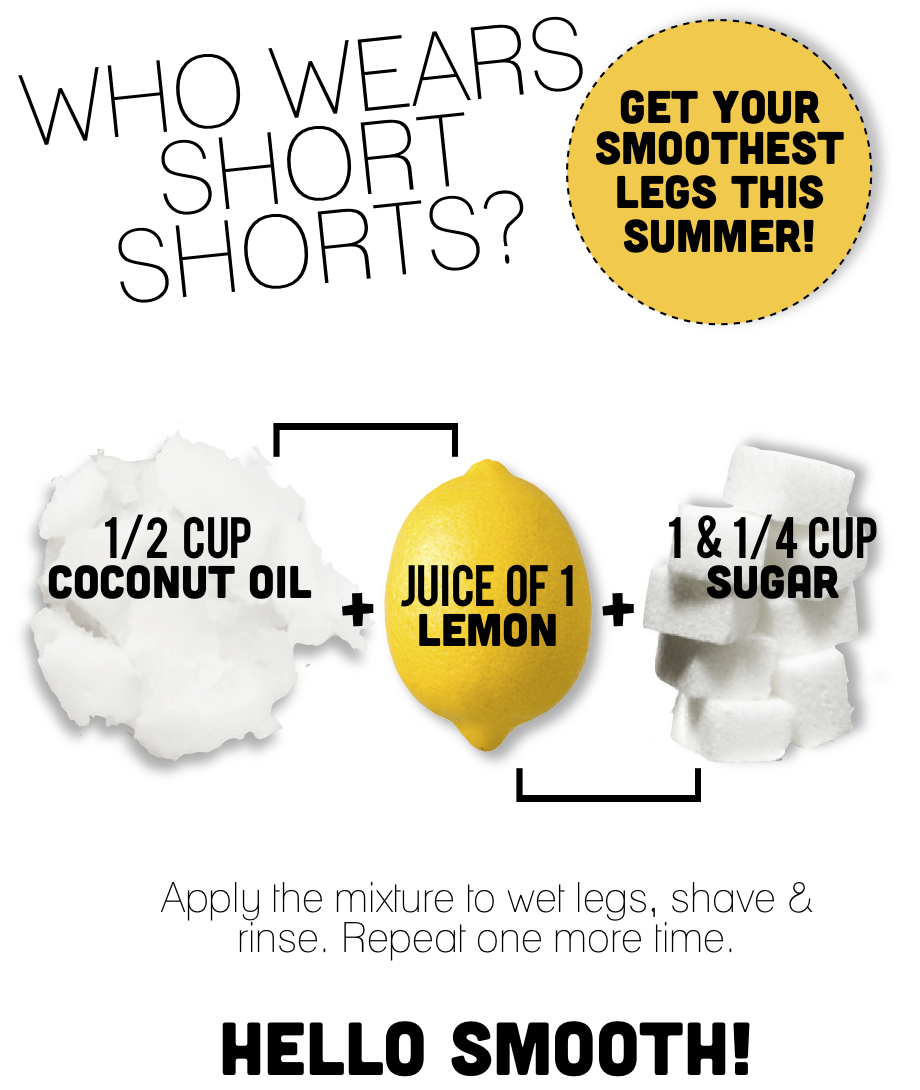 Get Silky Smooth Legs