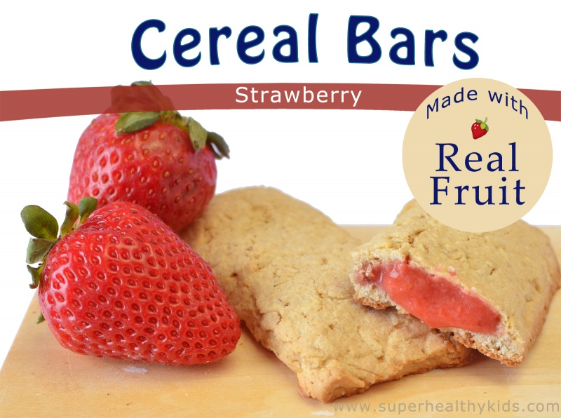 Homemade cereal bars