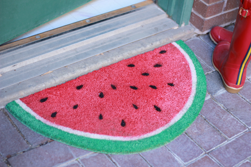 watermelon-welcome-mat