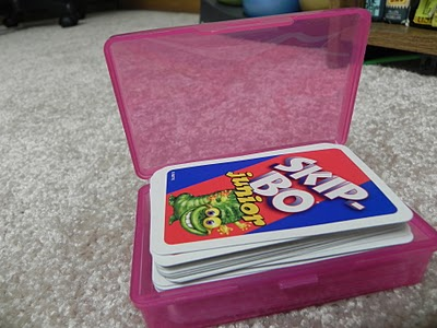 Skip Bo in box open