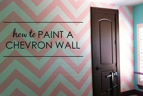 how-to-paint-a-chevron-wall