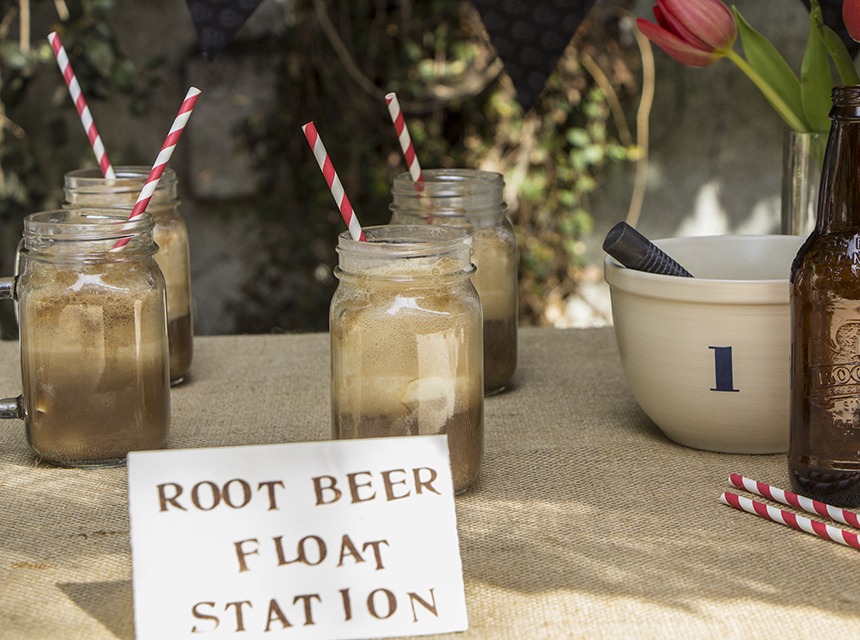 DIY Root Beer Float Station | Home and Heart DIY