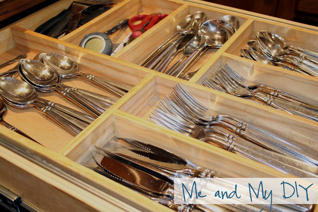 DIY Drawer Organization