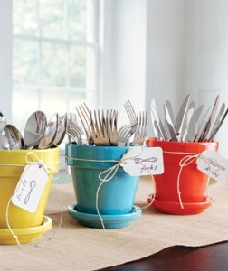 Colorful Utensil Organization